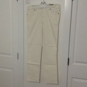 New Straight White Tommy Hilfiger Jeans